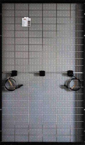 AEG Solar Module Glass Glass Fullblack Half-cut