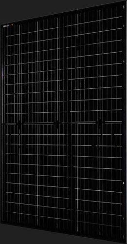 AEG Solar Module Glass Glass Fullblack Half-cut 3